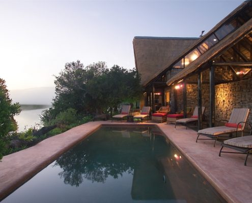 Kariega Game Reserve River Lodge Pooldeck