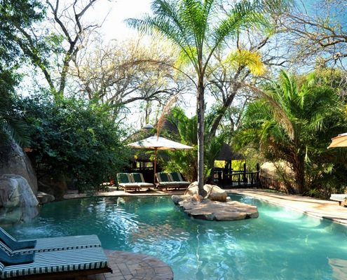 Idube Game Reserve Pool