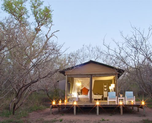 Ngama Tented Safari Lodge Zelt