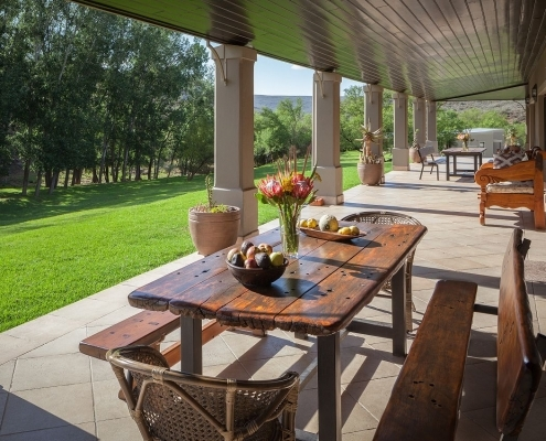 Wildehondekloof Lodge Veranda
