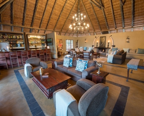 Kambaku Safari Lodge Lounge