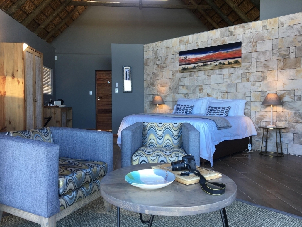 J-Bay Zebra Lodge Wohnbeispiel - Stone Luxury Suite