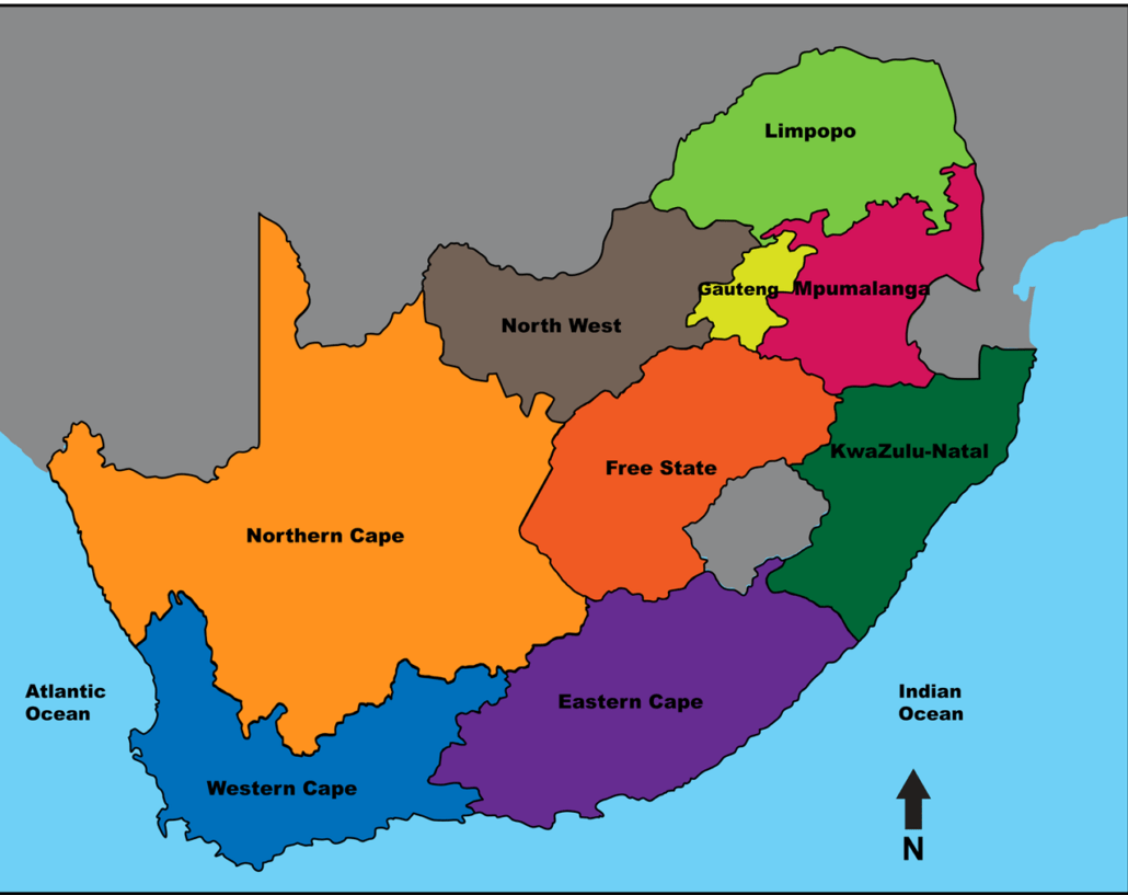 South-African-Provinces