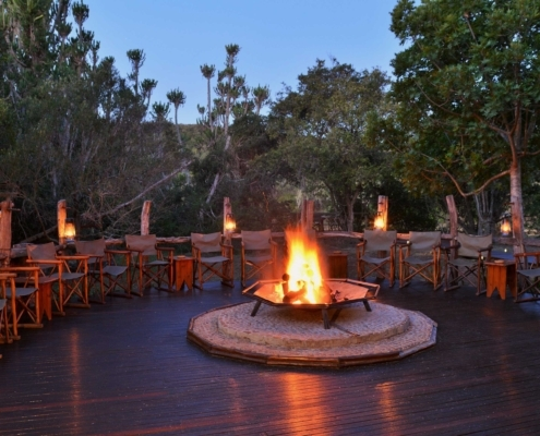 Sibuya Game Reserve Forest Camp Boma